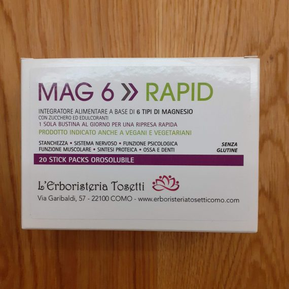 MAG 6 RAPID orosolubile