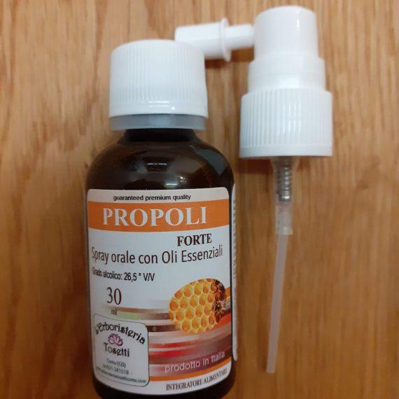 Propoli spray forte con oli essenziali