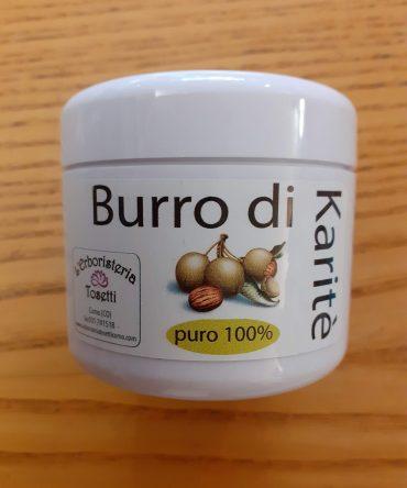 BURRO DI KARITE' 100%